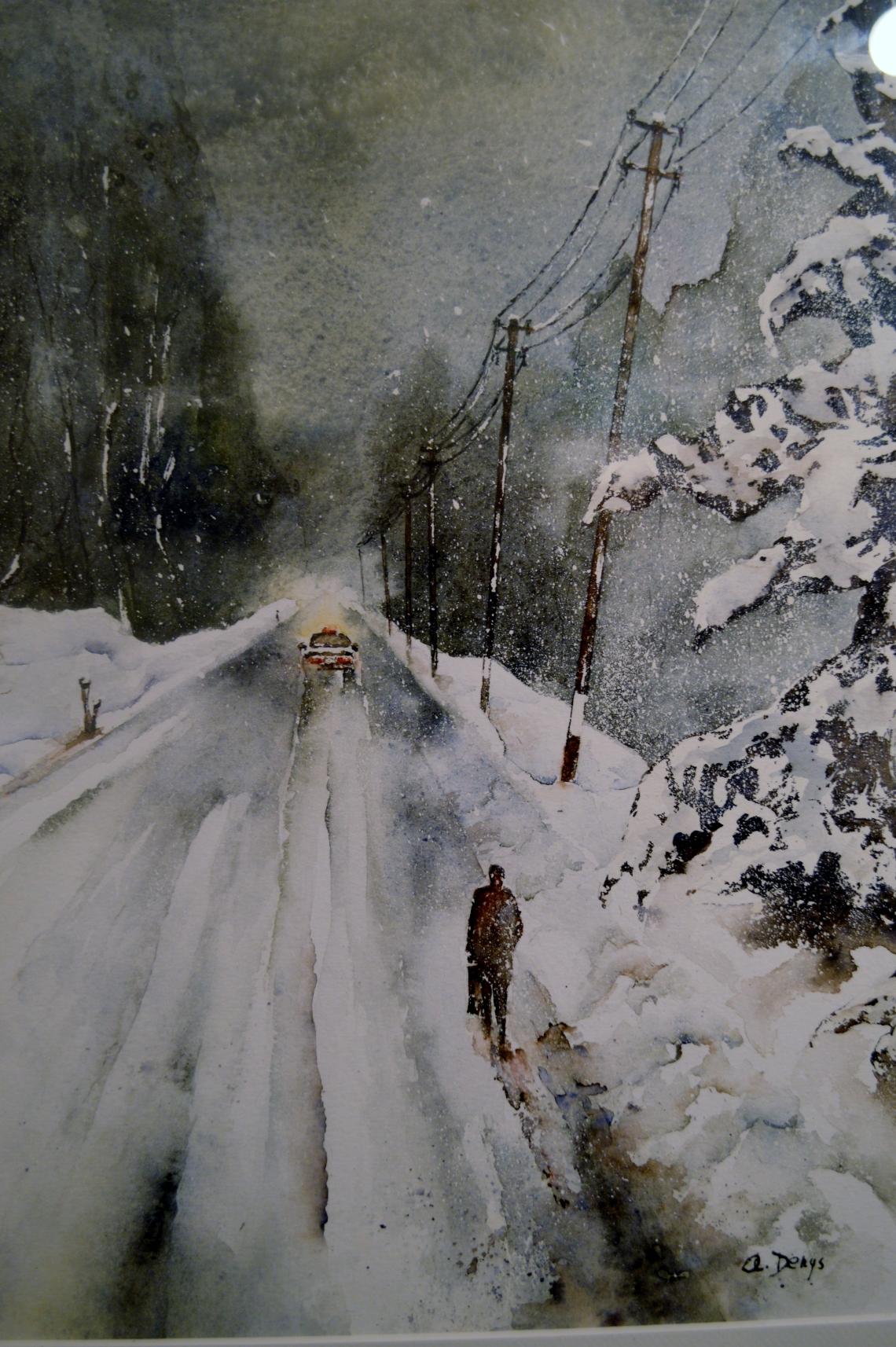 Taxi dans la Neige (2017)